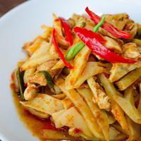 ilustrasi resep rebung tumis udang/copyright Shutterstock