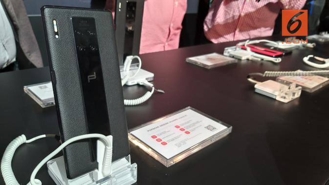 Huawei Mate 30 RS Edisi Terbatas. Liputan6.com/Ilyas Praditya