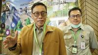 Kepala BPPSDMP Dedi Nursyamsi saat Pertemuan Evaluasi Penyelenggaraan Pelatihan Semester I Tahun 2020, di Horison Ultima Bhuvana-Ciawi Bogor, (29/6) yang diikuti 10 kepala UPT Pusat Pelatihan Pertanian lingkup BPPSDMP.