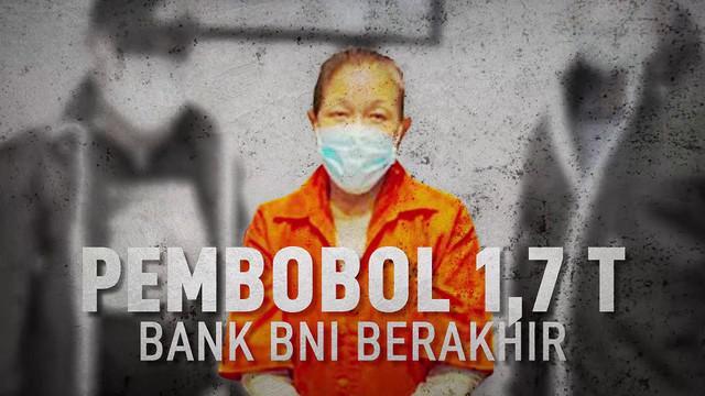 Upaya pelarian selama 17 tahun Maria Pauline Lumowa, pembobol kas bank BNI Kebayoran Baru berakhir.