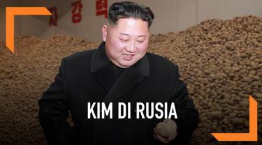 Pemimpin tertinggi Korea Utara, Kim Jong-un membeberkan tujuan pertemuannya dengan Presiden Rusia, Vladimir Putin.