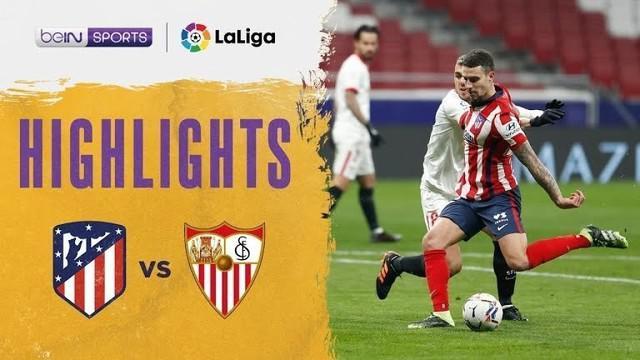 Berita video highlights laga tunda Liga Spanyol 2020/2021 antara Atletico Madrid melawan Sevilla yang berakhir dengan skor 2-0, Rabu (13/1/2021) dinihari WIB.