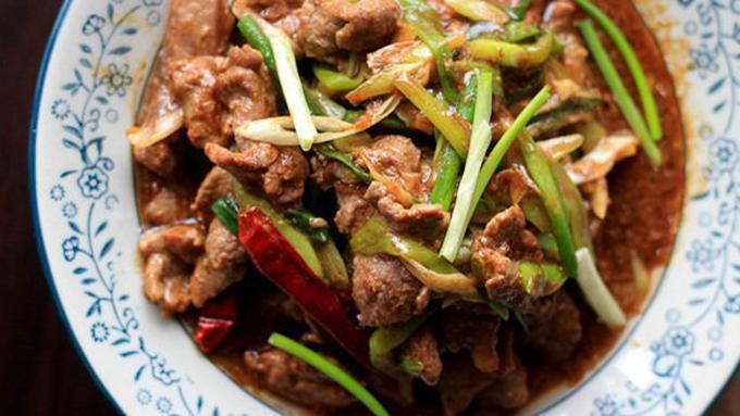 Resep Tumis Daging Sapi Daun Bawang Sederhana Sedap Enak