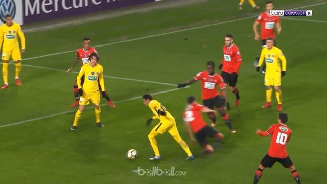 Berita video Neymar, dkk. kembali pesta gol bersama PSG saat hadapi Rennes di Coupe de France 2017-2018. This video presented by BallBall.