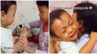 Kakak Adik Bikin Gemas. (Sumber: TikTok/ @nasyakhiy)