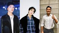 Haechan NCT, Doyoung NCT, Siwon Suju (dari kiri ke kanan) (Instagram/@nct/@siwonchoi)