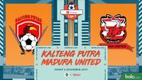 Shopee Liga 1 - Kalteng Putra Vs Madura United (Bola.com/Adreanus Titus)