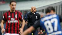 Pelatih Inter Milan, Luciano Spalletti. (AP Photo/Antonio Calanni)