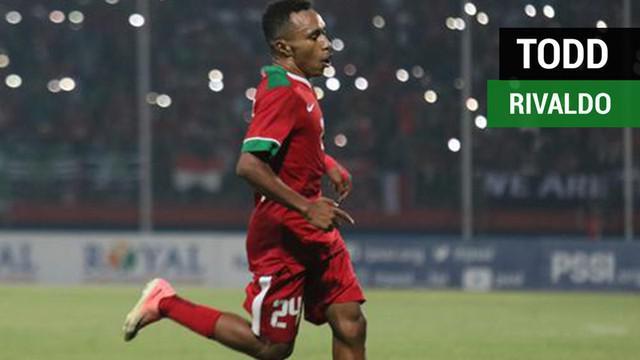 Berita video kehebatan Todd Rivaldo dalam menggiring bola menghasilkan gol untuk Timnas Indonesia saat menghadapi Vietnam pada Piala AFF U-19 2018, Sabtu (7/7/2018).