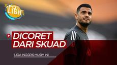 Berita video spotlight kali ini akan membahas tentang 4 pemain yang dicoret dari skuad Liga Inggris musim ini, Manchester United sumbang dua nama.
