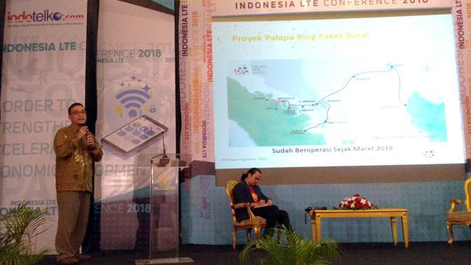 Syarif Lumintarjo, President Director Palapa Ring Barat. Dok: Tommy Kurnia/Liputan6.com