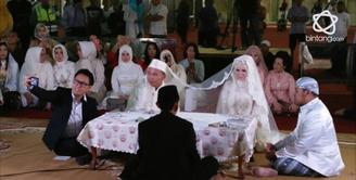 Vicky Prasetyo dan Angel Lelga resmi menikah pada Jum'at, 9 Februari 2018 di Masjid Istiqlal, Jakarta Pusat.
