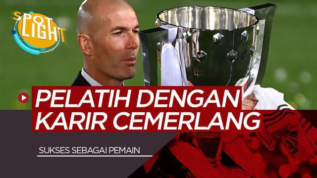 Berita video spotlight kali ini membahas tentang 5 Pelatih dengan Karir Cemerlang saat Menjadi Pemain Termasuk Zinedine Zidane di Real Madrid