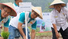 BNI menginisiasi Gerakan Menyongsong Pertanian 4.0.