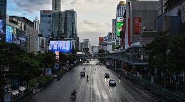 FOTO: Thailand Perketat Penguncian COVID-19 di Ibu Kota Bangkok
