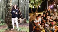 Wanda Hamidah dan anak-anaknya. (Instagram/@wanda_hamidah)
