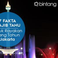 Merayakan ulang tahun Jakarta tak afdol jika belum tahu 7 fakta ini!| (Digital Imaging: Muhammad Iqbal Nurajri)