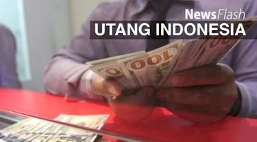Bank Indonesia (BI) mencatat posisi utang luar negeri (ULN) Indonesia pada April 2016 mencapai US$ 319 miliar atau Rp 4.210,80 triliun (estimasi kurs 13.200 per dolar AS).