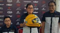 Arai RX-7X Joey Dunlop hanya ada dua di Indonesia. (Septian/Liputan6.com)