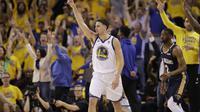 Thompson cetak poin terbanyak untuk Warriors saat gasak Pelicans di gim pertama smeifinal NBA (AP Photo/Marcio Jose Sanchez)