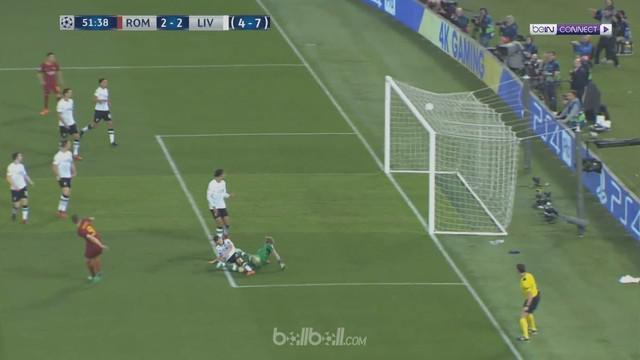 AS Roma berhasil menaklukkan Liverpool dengan skor 4-2 pada leg kedua semifinal Liga Champions. This video is presented by Ballball.