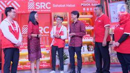 Festival SRC Indonesia secara virtual disaksikan ribuan pemilik toko kelontong. Kegiatan ini diharapkan dapat mendukung upaya pemerintah dalam memulihkan ekonomi nasional di masa pandemi. (Liputan6.com/HO/Ading)