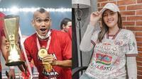 Fotonya Dikomentari Riko Simanjuntak, Ini 6 Potret Jess Amalia Dukung Persija (sumber: Instagram/riko.smnjuntak/jess_amalia20)