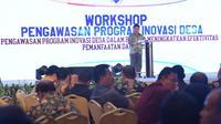 Kementerian Desa, Pembangunan Daerah Tertinggal dan Transmigrasi (Kemendes PDTT) gelar workshop Pengawasan Program Inovasi Desa