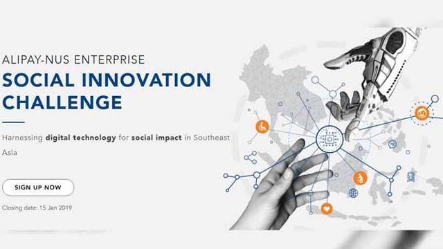 Alipay Gandeng NUS Enterprise Gelar Kompetisi Inovasi Sosial