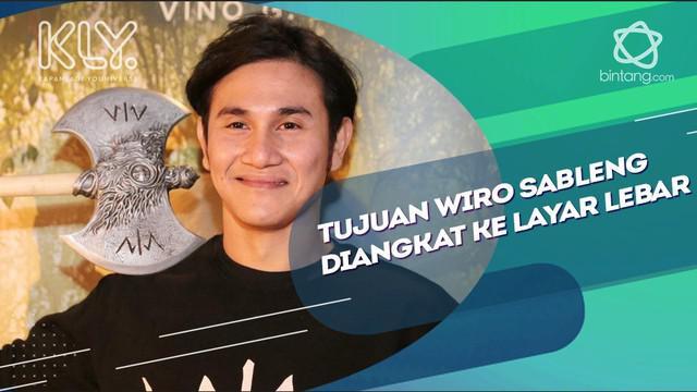 Vino Bastian ungkap tujuan cerita Wiro Sableng diangkat ke layar lebar.