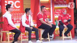 Para pemilik toko kelontong dalam acara Festival SRC Indonesia secara virtual di Jakarta, Sabtu (19/12/2020). Festival SRC Indonesia diharapkan dapat menggerakkan ekonomi kerakyatan dan memberikan kontribusi untuk perkembangan ekonomi mikro. (Liputan6.com/HO/Ading)