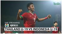 Jadwal Piala AFF U-19, Indonesia vs Thailand (Bola.com/Adreanus Titus))