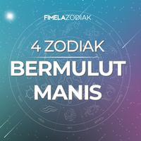 4 Zodiak Bermulut Manis