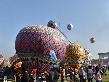 105 Peserta Ikuti Java Balon Festival di Pekalongan
