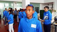 Agus Prayogo bertekad melanjutkan tradisi meraih medali emas pada SEA Games 2019. Nomor andalannya adalah lari jarak jauh 10 ribu meter. (Bola.com/Zulfirdaus Harahap)