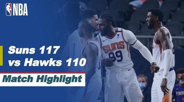 Berita video highlights NBA 2020/2021 antara Phoenix Suns melawan Atlanta Hawks yang berakhir dengan skor 117-110, Rabu (31/3/2021) pagi hari WIB.