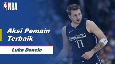 Berita Video Melihat Aksi Luka Doncic Saat Mencetak Rekor di NBA 2019-2020