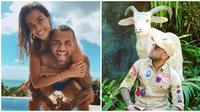Momen Kebersamaan Dani Alves Pemain Timnas Brazil dan Istri Liburan di Bali (sumber:Instagram/danialves dan joanasanz)