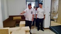 Kementerian Pekerjaan Umum dan Perumahan Rakyat (PUPR) tengah melakukan renovasi sebanyak 1.000 kamar bagi penyandang disabilitas dan fasilitas lainnya di Wisma Atlet Kemayoran untuk mendukung Asian Paragames. (Dok: KemenPUPR