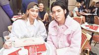 Gigi Hadid dan Kris Wu (dok. Instagram @gigihadid/https://www.instagram.com/p/BzBoX8uH5dA/Putu Elmira)