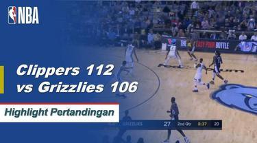 Montrezl Harrell mencetak 30 poin untuk memimpin Clippers melewati Grizzlies 112-106.