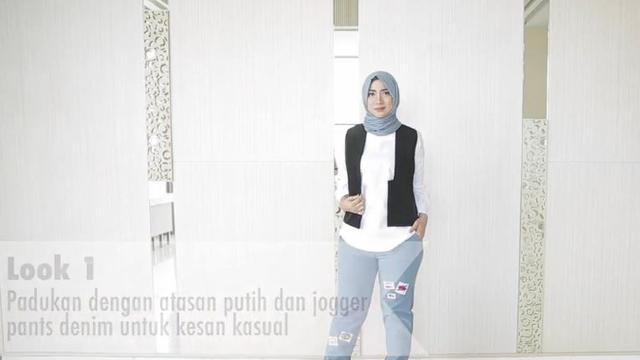 Padu Padan Vest Untuk Gaya Hijab Modis Selama Ramadan Ramadan
