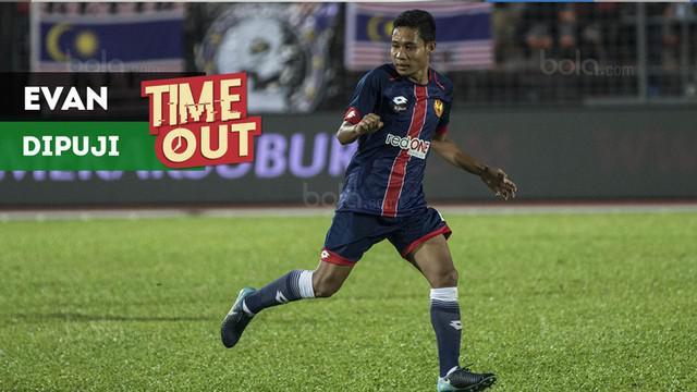 Berita video Time Out kali ini tentang Evan Dimas yang dapat pujian setelah laga debut dirinya di Liga Malaysia.
