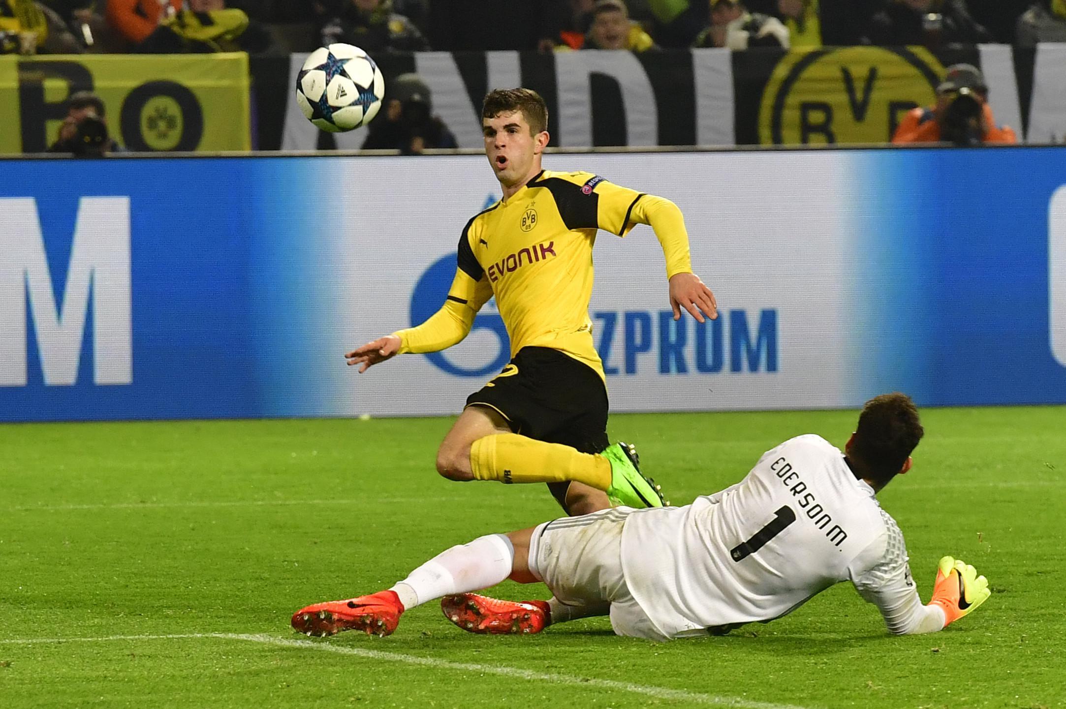 Gelandang Borussia Dortmund, Christian Pulisic (AFP)