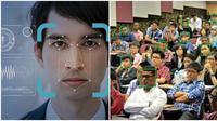 Alat scan wajah bagi mahasiswa (Sumber: World of Buzz)