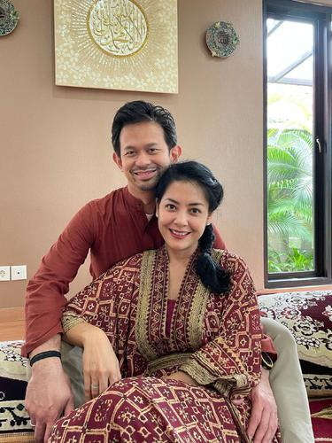 Lulu Tobing dan Bani Maulana Mulia. (Foto: Instagram @banimmulia)