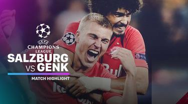 Berita video highlights Liga Champions 2019-2020 antara Red Bull Salzburg melawan KRC Genk yang berakhir dengan skor 6-2, Selasa (17/9/2019).
