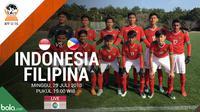 Piala AFF U-16_Indonesia Vs Filipina_2 (Bola.com/Adreanus Titus)