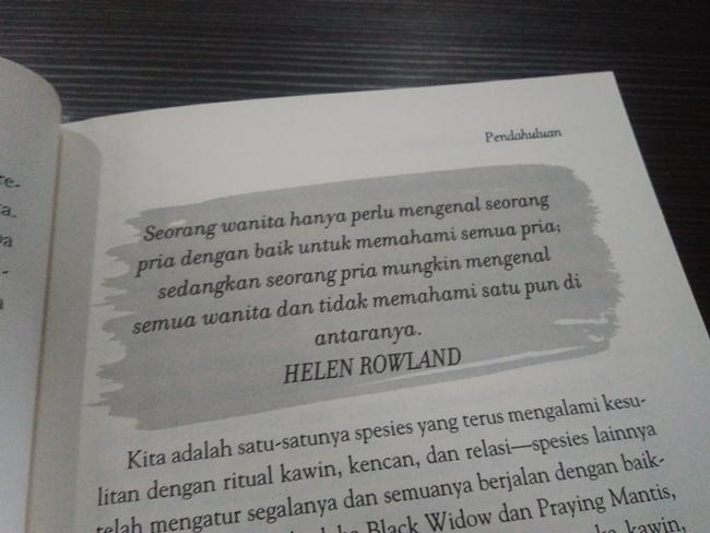 Buku Why Men Lie and Women Cry./Copyright Vemale/Endah