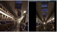 Sendirian Saat di Kereta, Pria Ini Alami Hal yang Menyeramkan (sumber:Twitter/@maialt1)